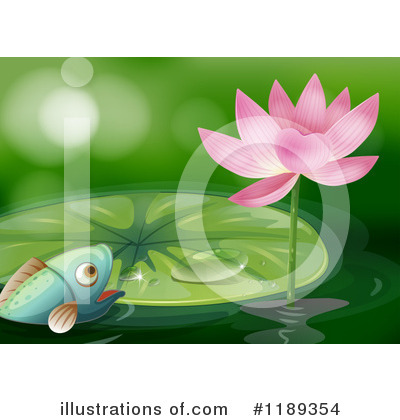 Water Lily Clipart #1189354 by Graphics RF