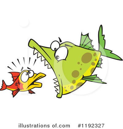 Fish Clipart #1192327 by toonaday