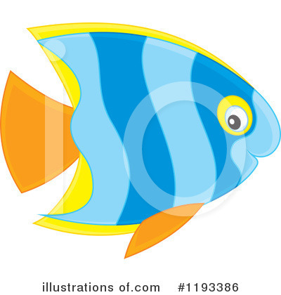Fish Clipart #1193386 by Alex Bannykh