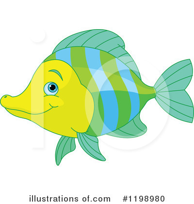 Fish Clipart #1198980 by Pushkin