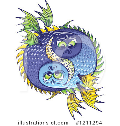 Fish Clipart #1211294 by Zooco
