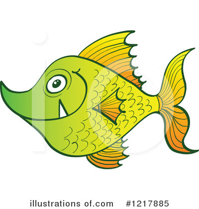 Fish Clipart #1217885 by Zooco