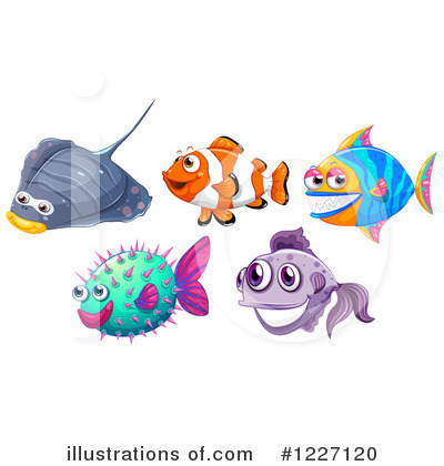Ray Fish Clipart #1227120 by Graphics RF