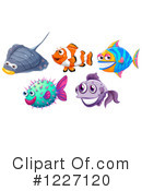 Royalty-Free (RF) Fish Clipart Illustration #1227120