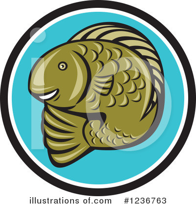 Fish Clipart #1236763 by patrimonio