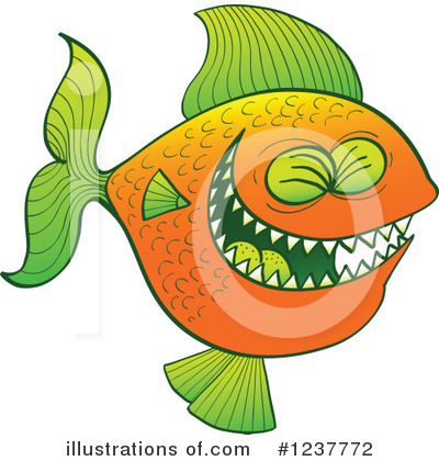Fish Clipart #1237772 by Zooco
