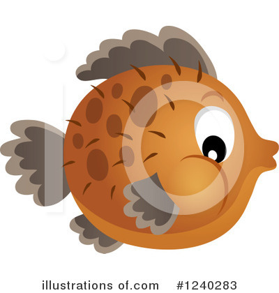 Fish Clipart #1240283 by visekart