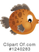 Royalty-Free (RF) Fish Clipart Illustration #1240283