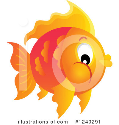 Goldfish Clipart #1240291 by visekart