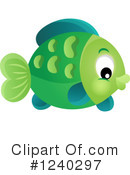 Royalty-Free (RF) Fish Clipart Illustration #1240297