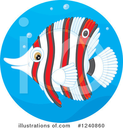 Fish Clipart #1240860 by Alex Bannykh