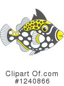 Fish Clipart #1240866 by Alex Bannykh