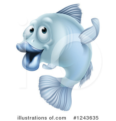 Fish Clipart #1243635 by AtStockIllustration