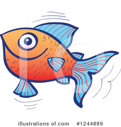 Fish Clipart #1244889 by Zooco
