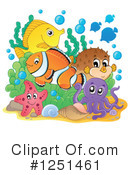 Fish Clipart #1251461 by visekart