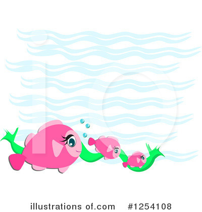 Fish Clipart #1254108 by bpearth