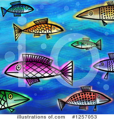 Royalty-Free (RF) Fish Clipart Illustration by Prawny - Stock Sample #1257053