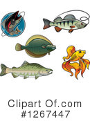 Fish Clipart #1267447 by Vector Tradition SM