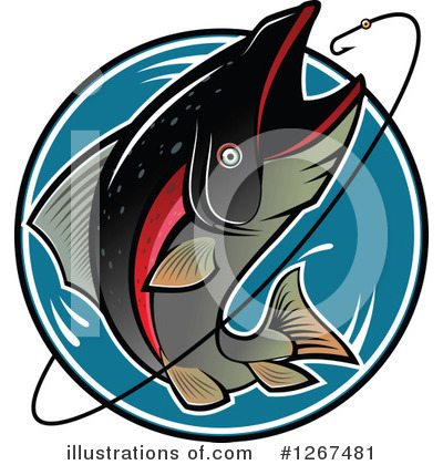 Fishing Clipart #1267481 by Vector Tradition SM