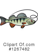 Fish Clipart #1267482 by Vector Tradition SM