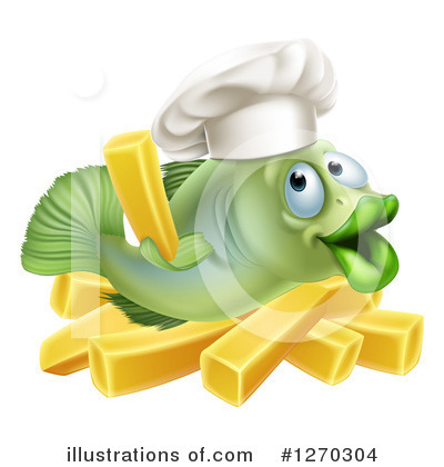 Chef Clipart #1270304 by AtStockIllustration