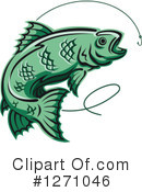 Fish Clipart #1271046 by Vector Tradition SM