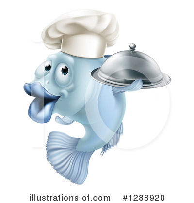 Chef Clipart #1288920 by AtStockIllustration