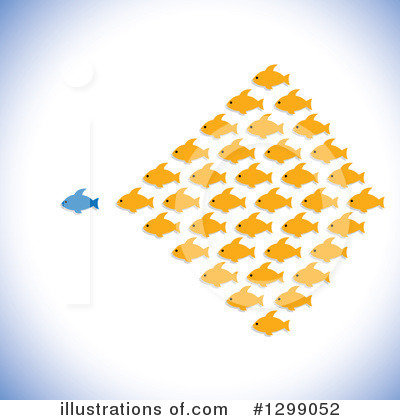 Fish Clipart #1299052 by ColorMagic