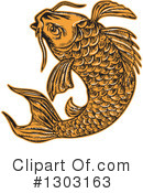 Fish Clipart #1303163 by patrimonio