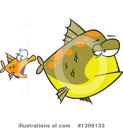 Fish Clipart #1306133 by toonaday