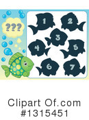 Royalty-Free (RF) Fish Clipart Illustration #1315451