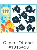Royalty-Free (RF) Fish Clipart Illustration #1315453