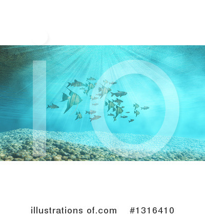 Royalty-Free (RF) Fish Clipart Illustration by KJ Pargeter - Stock Sample #1316410