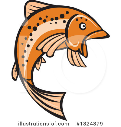 Fish Clipart #1324379 by patrimonio