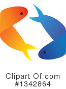 Fish Clipart #1342864 by ColorMagic