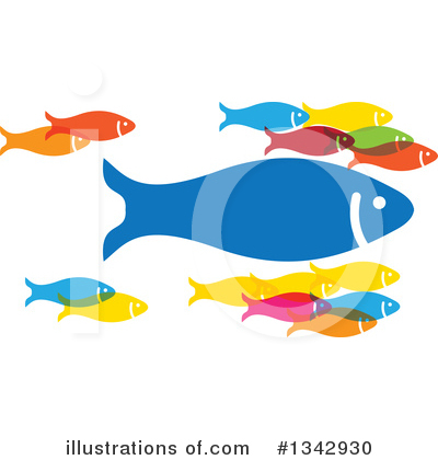 Fish Clipart #1342930 by ColorMagic