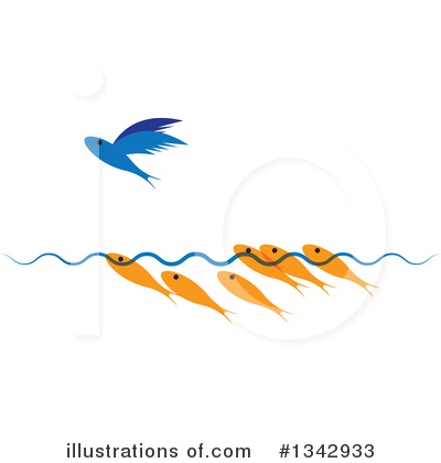 Fish Clipart #1342933 by ColorMagic