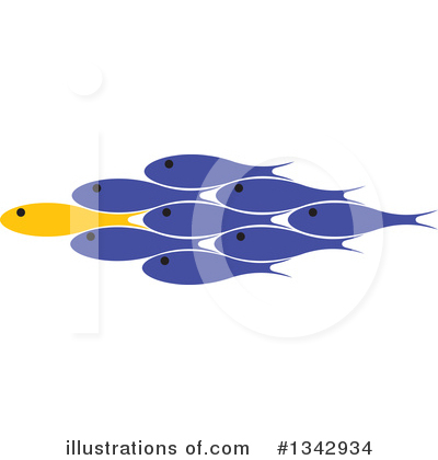 Fish Clipart #1342934 by ColorMagic