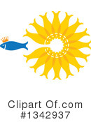 Fish Clipart #1342937 by ColorMagic
