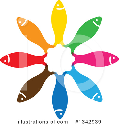 Fish Clipart #1342939 by ColorMagic
