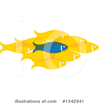 Fish Clipart #1342941 by ColorMagic