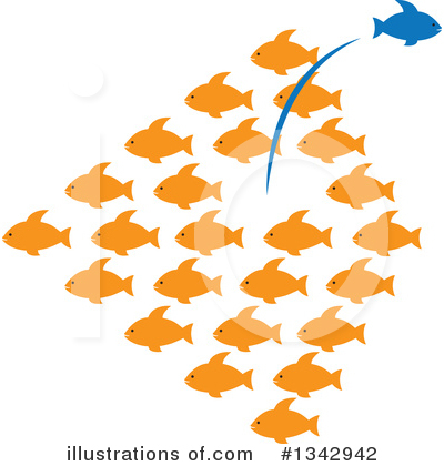 Fish Clipart #1342942 by ColorMagic