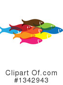 Fish Clipart #1342943 by ColorMagic