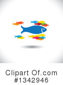 Fish Clipart #1342946 by ColorMagic
