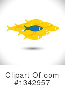 Fish Clipart #1342957 by ColorMagic