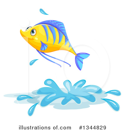 Sea Life Clipart #1344829 by Graphics RF