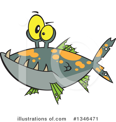 Monster Clipart #1346471 by toonaday