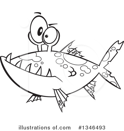 Fish Clipart #1346493 by toonaday