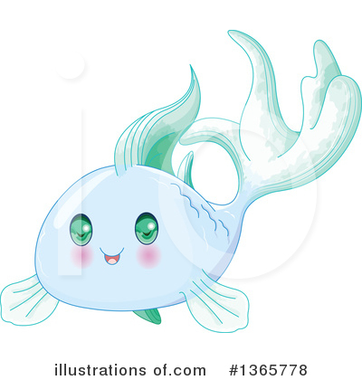 Fish Clipart #1365778 by Pushkin