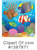 Fish Clipart #1387871 by visekart